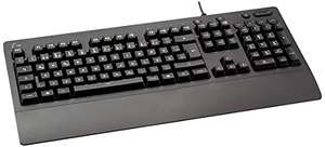 Logitech G213 Gaming Keyboard, RGB Backlit Keys, QWERTZ German - Used, Acceptable £11.21 Prime (+£4.49 Non Prime) @ Amazon Warehouse