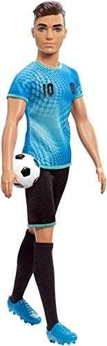 Barbie's Ken Soccer Player Doll £8.29 (+£4.49 non-prime) @ Amazon - hotukdeals