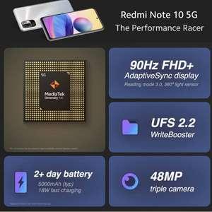 Xiaomi Redmi Note 10 5G - Smartphone £139 at Amazon