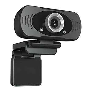 Mi IMILAB Full HD 1080P Webcam W88 S with Privacy Shutter Skype/MS Teams/Zoom Ready Black - £17.99 Delivered (UK Mainland) @ Scan