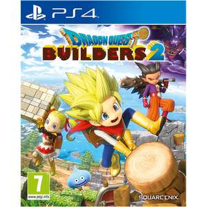 Dragon Quest Builders 2 PS4 for £9.99 (£4.99 delivery or collection fee) plus £5 voucher if collected @ Game