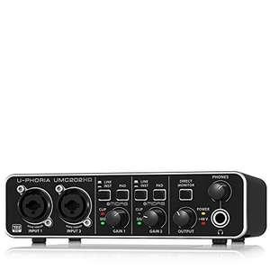 Behringer U-PHORIA UMC202HD USB Audio Interface £30.86 (Like New) - Amazon Warehouse