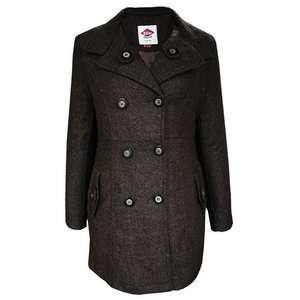 Lee Cooper Ladies Wool Blend Coat - Brown £12.98 delivered @ House of Fraser