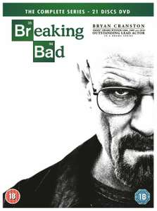 Breaking Bad: The Complete Series DVD £9.99 delivered @ Argos / ebay