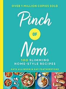 Pinch of Nom: 100 Slimming, Home-style Recipes Hardcover book £9.99 Prime + £4.49 non Prime @ Amazon