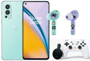 OnePlus Nord 2 128GB Smartphone + Harrington Buds Z Headphones + Free Google Stadia Premiere - £385.56 Delivered Via Edu Store @ OnePlus