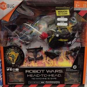 Hexbug Robot Wars Battling Bots Clearance £7.50 at The Entertainer Burnley