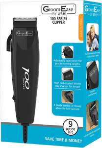 WAHL GroomEase 100 Series Clipper (4 Attachments, Comb, Scissors, Oil, Cleaning Brush) £4.20 Like New (+£4.49 Non-Prime) @ Amazon Warehouse