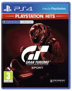 Gran Turismo Sport PS4 Hits Game - £8.99 (Free Click & Collect) @ Argos