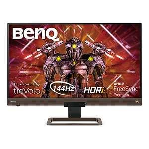 BenQ EX2780Q 27-Inch QHD (2560 x 1440) HDRi 144Hz Gaming Monitor, IPS, FreeSync Premium, USB-C - £259.97 @ Amazon