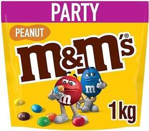 M&M's Peanut 1Kg Party Pouches are £5 @ Spar Scotland