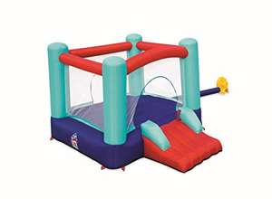 Bestway Inflatable Bouncy Castle with Slide and Mesh Walls for Kids, Multi-Coloured - £135.18 @ Amazon