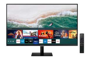 """32"""" M50A and 27"""" full HD smart monitor with speaker and remote, free keyboard and mouse £186.15/152.15 at Samsung"""