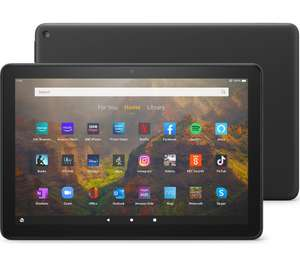 """Amazon Fire HD 10 10.1"""" Tablet (2021) - 32 GB (with ads) - £89.99 delivered with code @ Currys PC World"""