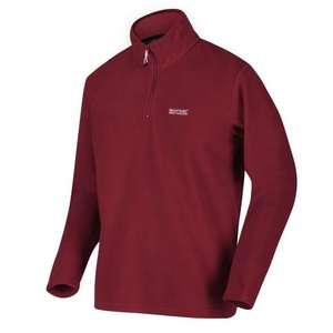 Regatta Men's Thompson Lightweight Half Zip Fleece - Red £4.99 delivered with code @ Hawkshead
