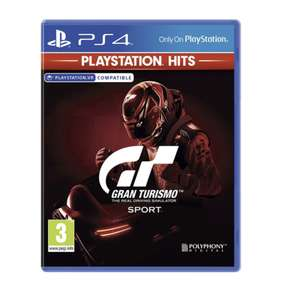 Gran Turismo Sport PS4 - £7.99 @ Smyths (Free click and collect)