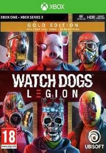 Watch Dogs: Legion Gold Edition (Xbox One) Xbox Live Key £30.85 GLOBAL at Eneba