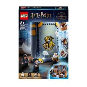 LEGO Harry Potter 76385 Charms Class & 76383 Potions Class Moments Building Sets - £19.59 each instore @ Dobbies Garden Centre, Kent