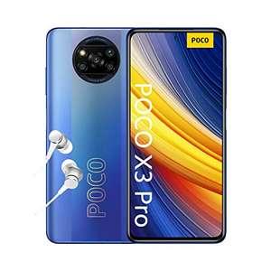 "POCO X3 Pro - Smartphone 8+256GB, 6,67"" 120Hz FHD+ DotDisplay, Snapdragon 860, 48MP Quad Camera, 5160mAh, Frost Blue £199 @ Amazon"