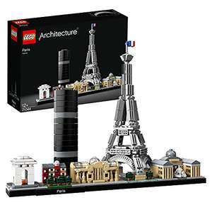 LEGO Architecture 21044 Paris Model Building Set with Eiffel Tower and The Louvre £30.99 at Amazon