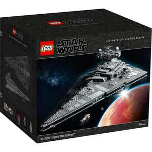 LEGO Star Wars 75252 Imperial Star Destroyer / LEGO Star Wars 75192 Millennium Falcon £519.99 with member code @ John Lewis & Partners