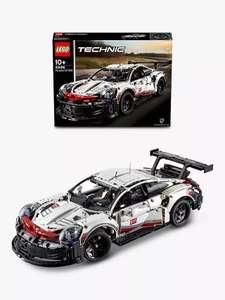 LEGO Technic 42096 Porsche 911 RSR - £86.69 with code @ John Lewis