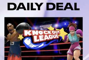 Oculus VR Daily Deal - Knockout League £10.99 @ Oculus