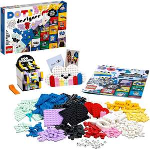 LEGO 41938 DOTS Creative Designer Box, Lots of Extra DOTS, with Pencil Holder, Desk Organiser, Picture Frame & Door Sign £23.99 at Amazon