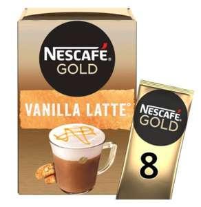 Various Nescafe Gold 8 Sachet Packs - 84p @ Ocado