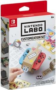 Nintendo Labo: Customisation Set (Nintendo Switch) - £1.65 (+£4.49 Non Prime) @ Amazon