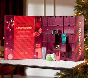 LOOKFANTASTIC Advent Calendar 2021 pre-order for £85 delivered