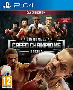 Big Rumble Boxing: Creed Champions Day One Edition (PS4) Out 10th Sept Brand New £25.37 at boss_deals ebay (UK Mainland)