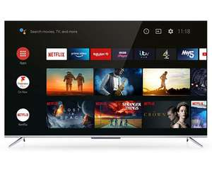 TCL 43P715K 43 Inch Ultra Slim 4K TV with HDR 10 and Android TV £228.65 @ hughes-electrical / eBay