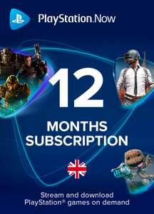 PlayStation Now 12 Month Subscription (UK) £32.50 @ Instant-Gaming