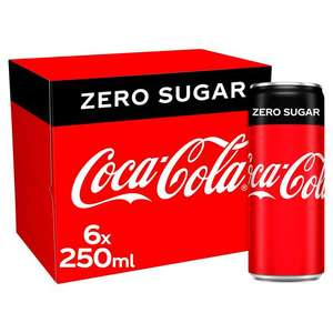 6x 250ml cans of Coke Zero - £1.05 / 2L Diet Pepsi - 55p @ Marks & Spencer (Worcester)