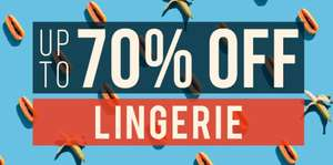 Up to 70% off lingerie sale now on Free delivery with £39.99 spend otherwise it's £3.99 - Examples in description @ Bondara
