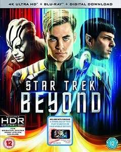 Star Trek Beyond 4k UHD + Blu-ray - £5.20 delivered @ Rarewaves