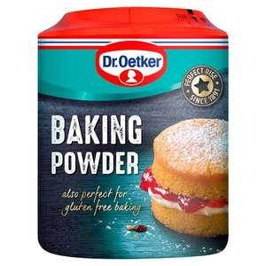 Dr. Oetker Gluten Free Baking Powder 170g or Bi Carb - £1 @ Morrisons