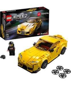 LEGO Speed Champions 76903 Chevrolet Corvette £26/ 76900 Koenigsegg Jesko & 76901 Toyota GR Supra £13.50 @Tesco (Clubcard price)