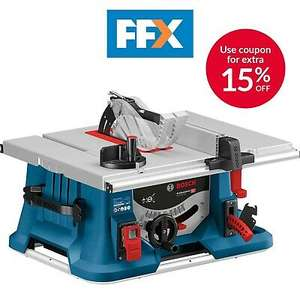 Bosch GTS635-216 240V 1600W Table Saw Power Tools - £265.46 @ folkestonefixings eBay (UK Mainland)