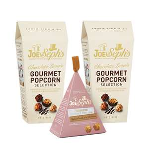 Joe & Steph Gourmet Popcorn Bundle for £17 (+£14 Cashback so just pay £3 postage) @ Quidco