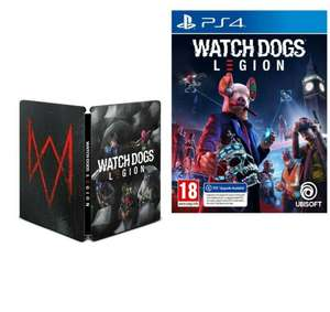 Watch Dogs Legion With Steelbook (PS4 / PS5 Upgrade) £13.95 Delivered @ The Game Collection