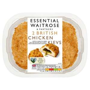Essential 2 British Chicken Kievs 250g - £1.25 @ Waitrose & Partners