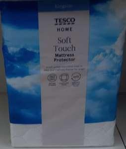 Tesco King-size Soft Touch Mattress Protector - £2 @ Tesco, Ipswich Road, Norwich