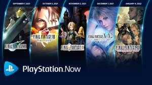 PS Now Additions - Final Fantasy VII, VIII, IX, X/X-2 HD Remaster, XII The Zodiac Age