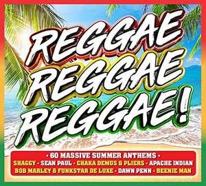 Reggae, Reggae, Reggae! [3 CD] {2019} + MP3 AutoRip - £3.32 delivered to Amazon Locker @ Amazon