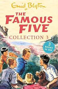 The Famous Five Collection 3: Books 7-9 by Enid Blyton 99p on Kindle @ Amazon