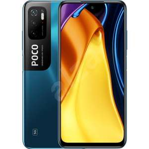 "POCO M3 Pro 5G 6.5"" FHD+ 90Hz MediaTek Dimensity 700 dual 5G 48MP camera 5000mAh UK Version 64GB 4GB ram £144 (with code via app) @ Poco"