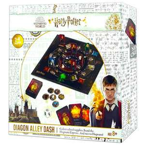 Harry Potter Diagon Alley Dash Board Game - £9 + £1.99 Click & Collect @ The Works