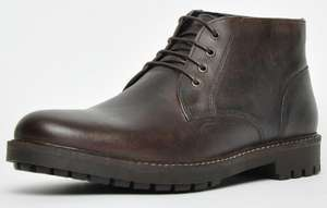 Red Tape Heritage Langdale leather mens ankle boots in dark brown for £23.49 delivered using code @ Express Trainers